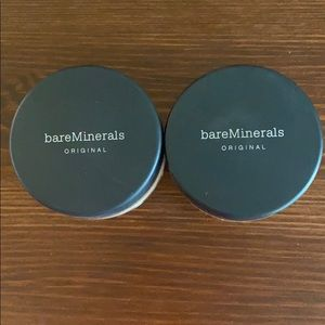 2 bareMinerals Medium Beige Foundations